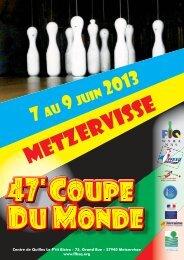 Welt Cup Clubmann. 07.06.-09.06.2013 in Frankreich - Kegeln Total