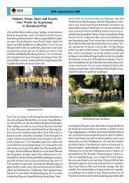 Bericht und Fotos - Deutscher Kegler