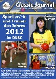 Classic Journal Online 113.2013 - Deutscher Kegler