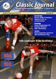Classic-Journal 98 - Deutscher Kegler