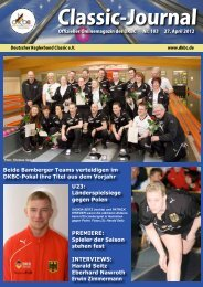 Classic-Journal 103 - Deutscher Kegler