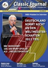 Classic Journal Online 78.2010 - Deutscher Kegler