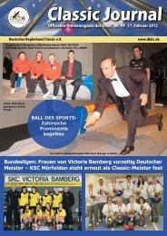 Classic Journal Online 99.2012 - Deutscher Kegler