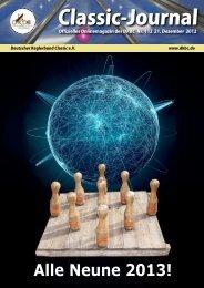 Classic Journal Online 112.2012 - Deutscher Kegler