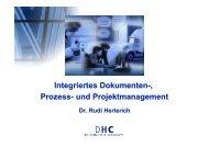 Integriertes Dokumenten-, Prozess- und Projektmanagement - KEG Saar