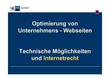 Anbieterkennzeichnung - KEG Saar
