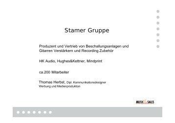 Stamer Gruppe - KEG Saar