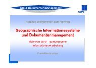 GIS & Dokumentenmanagement - KEG Saar