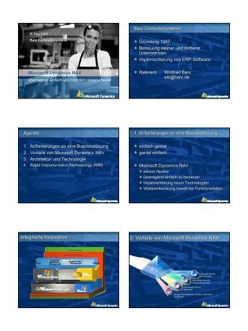 Microsoft Dynamics NAV* Rapid Implementation ... - KEG Saar