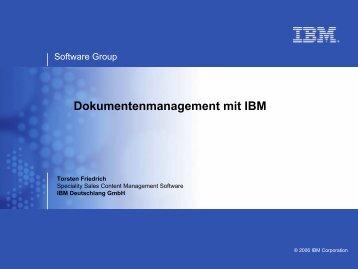 IBM - KEG Saar