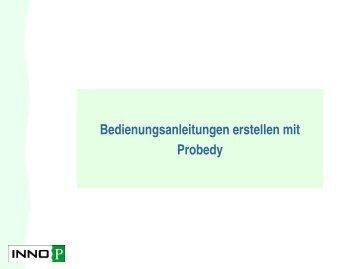 Was ist Probedy - KEG Saar