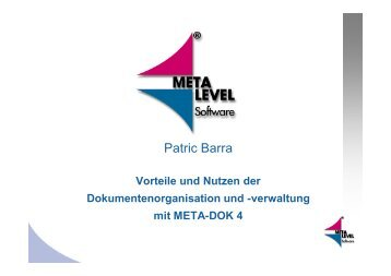 Patric Barra - KEG Saar