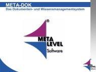 META-DOK - KEG Saar