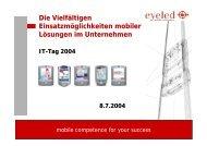 Mobiler Fertigungsleitstand - KEG Saar