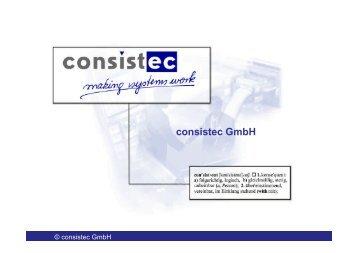 consistec GmbH - KEG Saar
