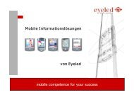 mobile competence for your success Mobile Informationslösungen von ...