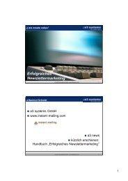 Unternehmensprofil Unternehmensprofil Erfolgreiches ... - KEG Saar