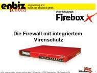 Die Firewall mit integriertem Virenschutz - KEG Saar