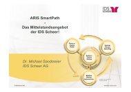 ARIS SmartPath - Das Mittelstandsangebot der IDS Scheer! - KEG Saar