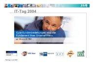 IT-Tag 2004 - KEG Saar