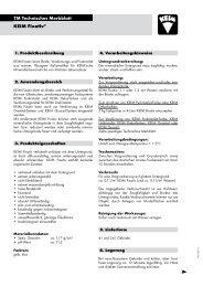 KEIM Fixativ® TM Technisches Merkblatt