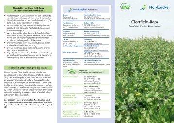 Nordzucker & Regionale Rübenanbauverbände: Clearfield-Raps