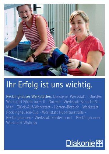 Informationsbroschüre - Diakonisches Werk im Kirchenkreis ...
