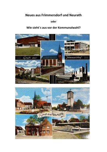 Neues aus Frimmersdorf und Neurath