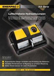 PDF ENERPAC Luftbetriebene Hydraulikpumpen - Keller ...