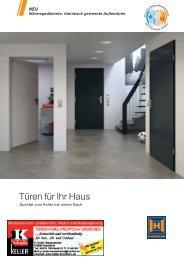 Katalog Thermisch getrennte Türen