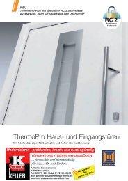 Hörmann ThermoPro Türen - Keller Bauelemente