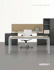Product Brochure (6 mb) - Watson Desking
