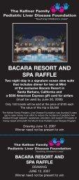 bacara resort and spa raffle - The Kellner Family Pediatric Liver ...