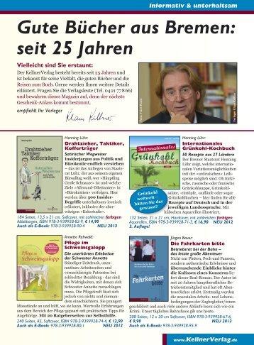 Das aktuelle Verlagsprogramm zum Download - Kellner Verlag