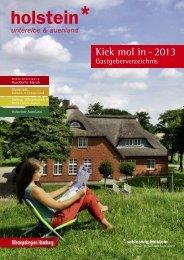 Gastgeberverzeichnis - Kellinghusen