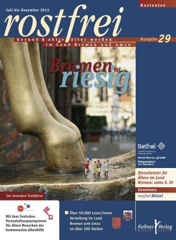 Rostfrei 29 - Kellner Verlag