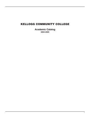 2004-2005 - Kellogg Community College