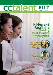 Hiring and Retaining Quality Call Centre Employees Hiring and ...