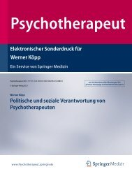 Politische und soziale Verantwortung von ... - Dr. Werner Köpp