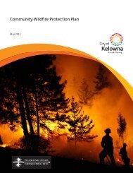 Community Wildfire Protection Plan - City of Kelowna