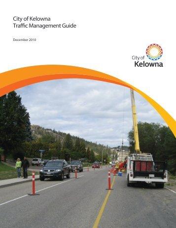 City of Kelowna Traffic Management Guide