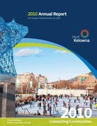 2010 Annual Report - City of Kelowna