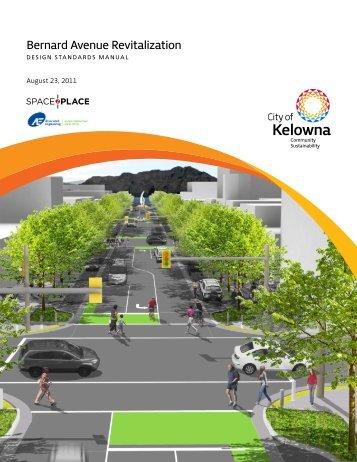 Bernard Avenue Revitalization - City of Kelowna