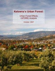 Kelowna's Urban Forest: - City of Kelowna