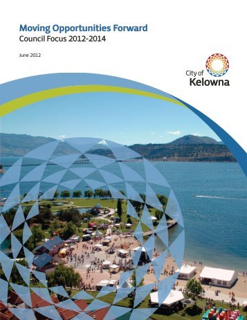 Council Priorities Framework - City of Kelowna
