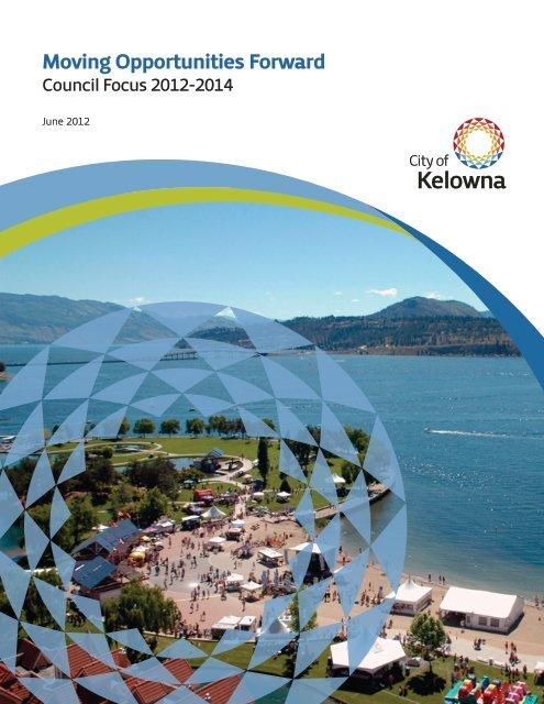 Council Priorities Framework - City of Kelowna