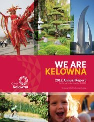 2012 Annual Report - City of Kelowna