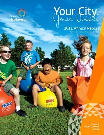 2011 Annual Report - City of Kelowna