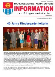 Download - Marktgemeinde Kematen/Ybbs