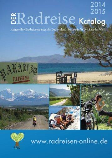 Der Radreise Katalog